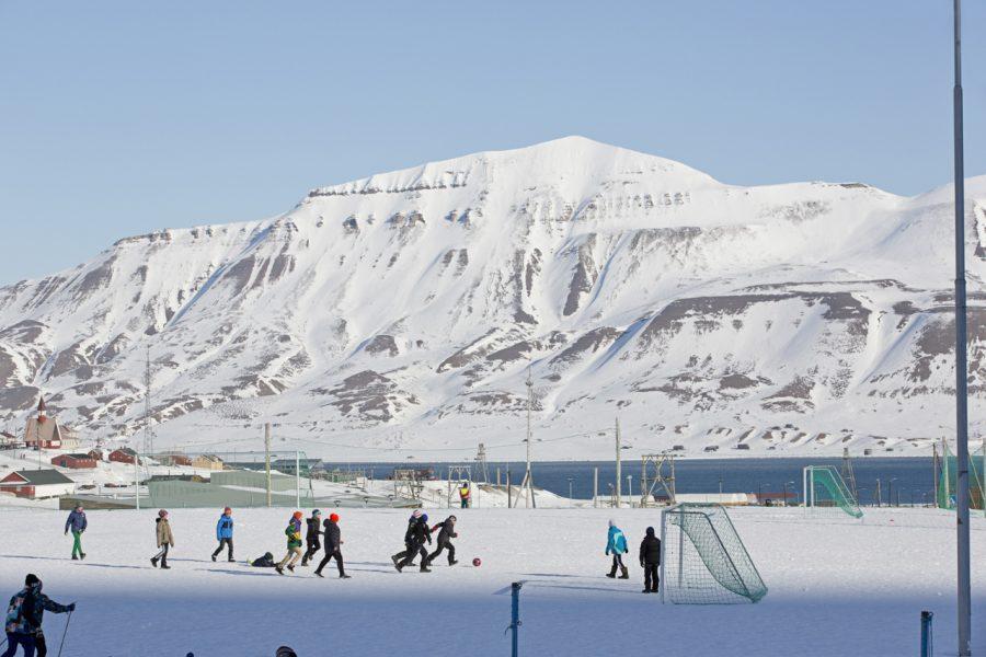 Longyearbyen, Opettaja-lehti
